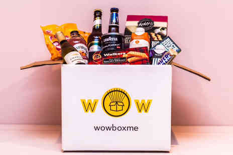 WowBoxMe - One month non alcoholic surprise snack box subscription - Save 28%