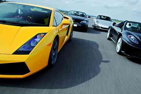 Buyagift - Four supercar driving blast experience and passenger ride - Save 0%