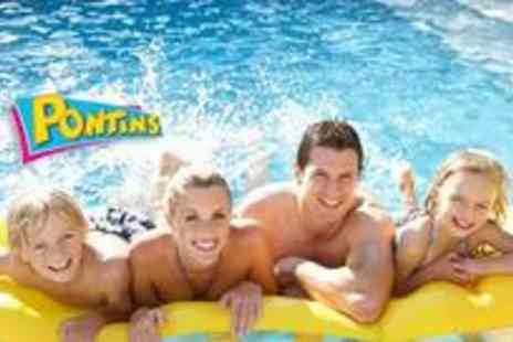 Pontins Holidays - Four night coastal Pontins break for up to four people on the 25th June 2012 only - Save 76%