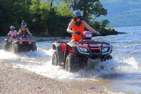 Jetski Safaris - Quad Safari on Inchmurrin Island and Jet Ski Session for One or Two - Save 50%