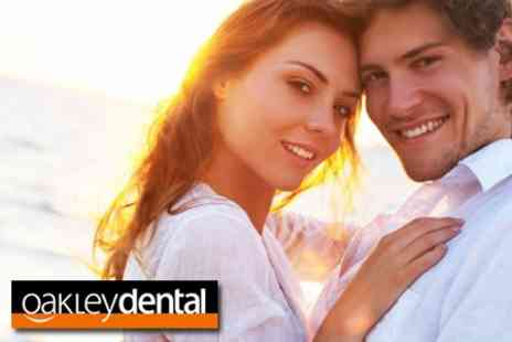 Oakley Dental - Clear step Invisible Braces on Top or Bottom Arch - Save 63%