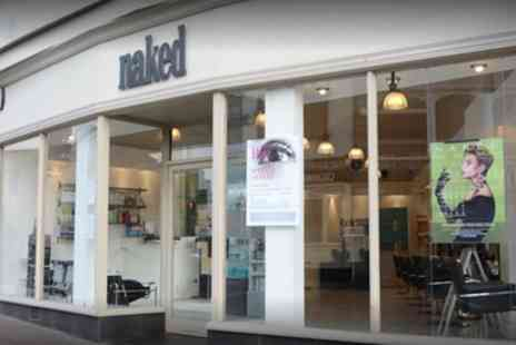 Naked Hair Salon - 85 Minute Pamper Package - Save 65%