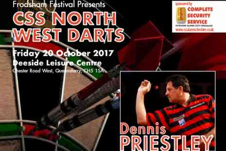 CSS North West Darts - CSS North West Masters Darts with Dennis Priestley on 20 October - Save 30%