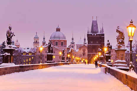 Corinthia Hotel Prague - Five Star Panoramic Views of a Fairytale City For Two - Save 79%