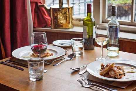 The Crown Country Inn - Inspired meal for 2 at Shropshire Tudor inn - Save 42%