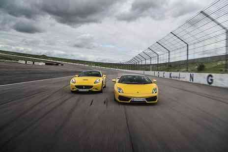 Buyagift - Double supercar driving blast experience with a free high speed passenger ride - Save 0%