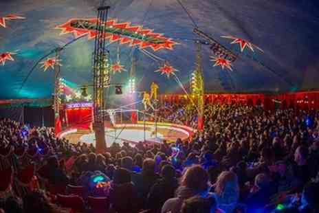 Zippos Circus - Ticket to Zippos Circus on 6 to 29 October - Save 50%