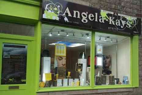 Angela Kays Beauty Salon - 60 or 90 Minute Pamper Package - Save 52%