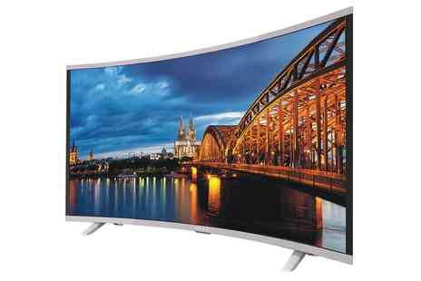 Groupon Goods Global GmbH - Akai CTV554 Curved UHD 4K TV With Free Delivery - Save 0%