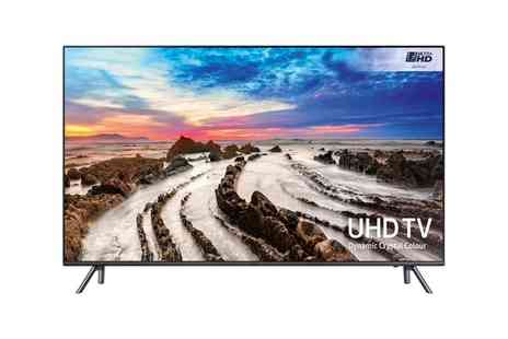 Groupon Goods Global GmbH - Samsung UE65MU7070 65 Inch Smart 4K Ultra HD HDR Led TV With Free Delivery - Save 18%
