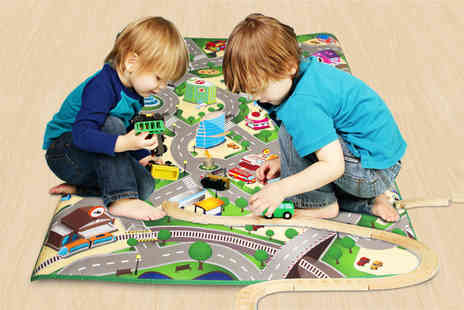 Ckent - Kids city streets play mat - Save 60%