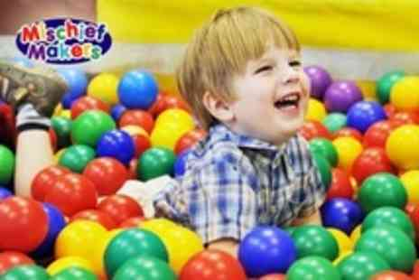 Mischief Makers - Play Centre Family Pass With Childrens Drinks - Save 57%