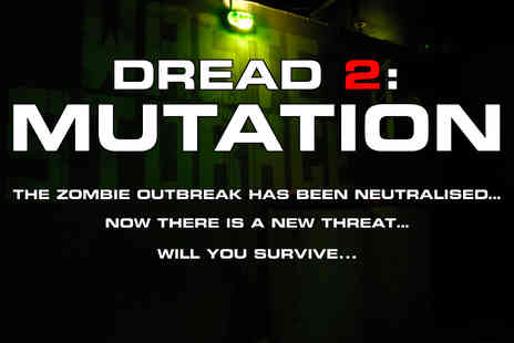 Dread Glasgow - Entry to the Dread 2 Halloween Mutation Scare Run for two adults or family of four or group of up to eight - Save 27%