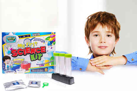 Ckent - My first science kit set, grow crystals and make colourful concoctions - Save 75