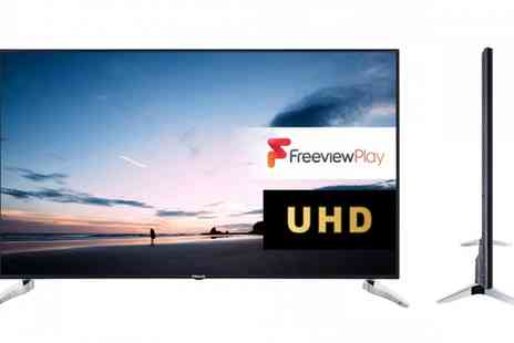 Groupon Goods Global GmbH - Finlux 65 Inch 4K UHD Freeview Play Led Smart TV With Free Delivery - Save 0%