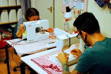 Sew In Brighton - Make up bag, Tote Bag or Cushion Sewing Workshops - Save 55%