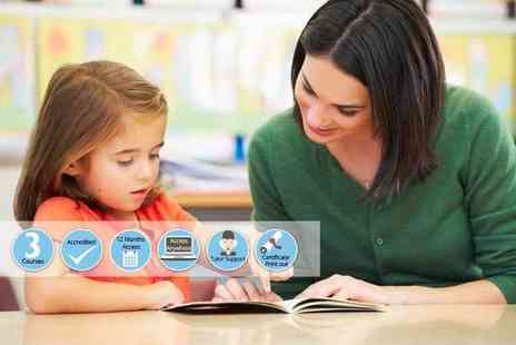 Oplex Careers - Online level 2, level 3 or level 4 accredited teaching assistant course - Save 92%
