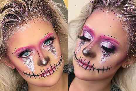 SS Makeup Studio - Three hour Halloween makeup masterclass with a glass of Prosecco and a goody bag - Save 68%