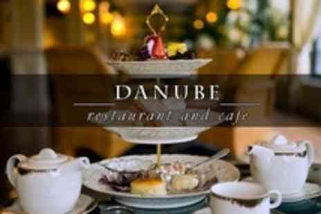 Danube Restaurant - Afternoon Tea For Two With Bubbly - Save 61%