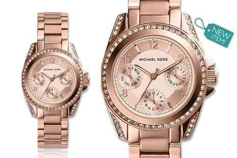 GK1706 - Ladies Michael Kors mini Blair watch MK5613 - Save 52%