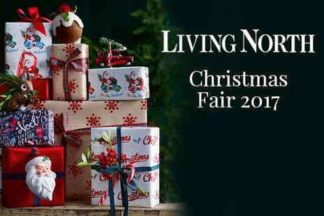 Living North - Two tickets to Living North Christmas Fair on Friday 9th to Sunday 12th November - Save 33%