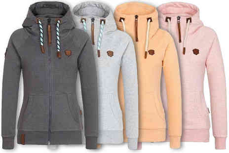 Jewleo - Womans comfortable hoodie - Save 82%