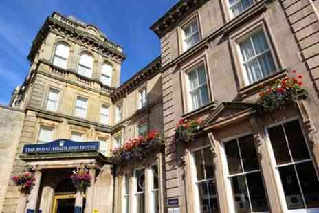 The Royal Highland Hotel - One to Three Nights Stay for Two with Breakfast and Option for Dinner and Wine - Save 0%