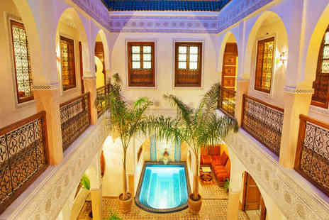 Riad LArbre Bleu - Quiet Retreat with Mountain Views For Two - Save 44%