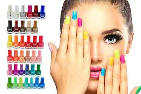 Forever Cosmetics - Set of 36 high maintenance nail polishes - Save 76%