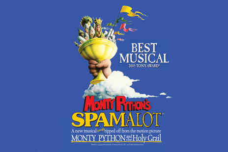 ATG Tickets - Band C, Brand B or Brand A ticket to see Monty Pythons Spamalot - Save 40%