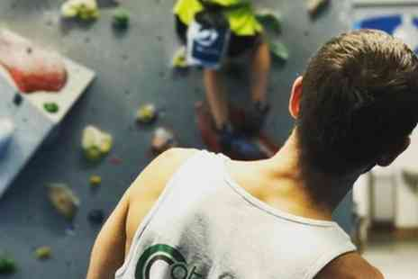 Catalyst Climbing - One Hour Climbing, Coaching and Day Pass for One or Two - Save 78%
