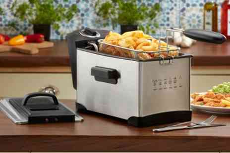 Groupon Goods Global GmbH - Cooks Professional 3 Litre Deep Fat Fryer - Save 45%