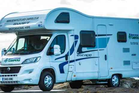 Bonny Scotland Motorhomes - One or Six Night Camper Van Hire for Four or Motorhome Hire for Six - Save 45%