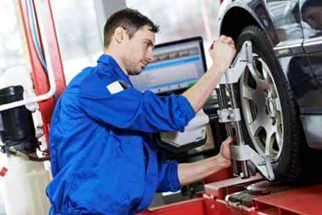 AHC Autos - Laser Wheel Alignment for Four Wheels - Save 67%