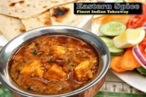 Eastern Spice - Three Course Indian Takeaway For Four - Save 73%
