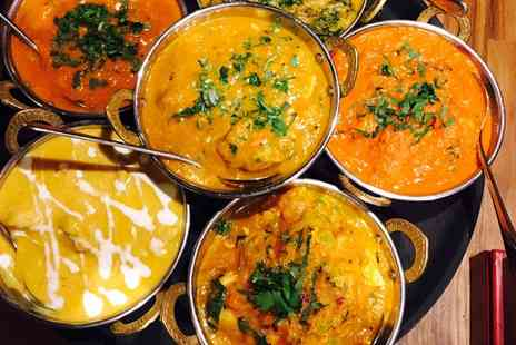 Sarpn Group Restaurant - Tandoori Sharing Platter, Choice of Mains and Rice Plus BYOB for Two or Four - Save 53%