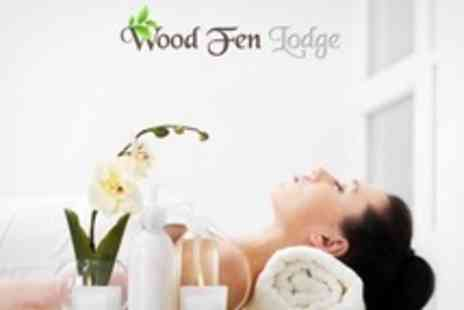 Wood Fen Lodge - Spa Experience With Lunch For One - Save 75%