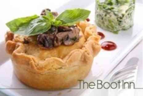 The Boot Inn - Sunday Lunch For Two With Liqueur Coffee Each - Save 63%