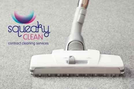 Squeaky Clean - Carpet Cleaning - Save 68%