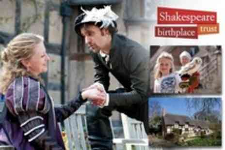 Shakespeare Birthplace Trust - Child Tickets to Three Houses - Save 67%