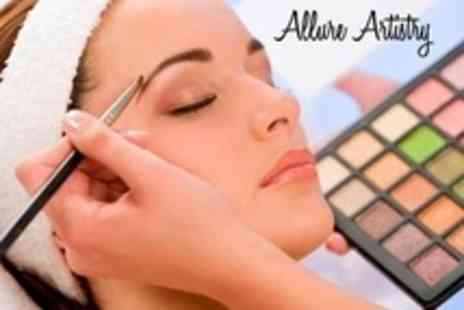 Allure Artistry - One Day Beginners Hair and Make Up Masterclass With Goody Bag - Save 80%