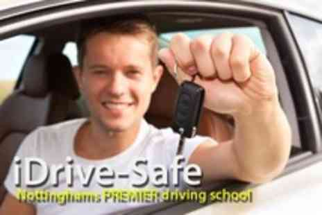 iDrive-Safe - Five Hours of Driving Tuition Plus Theory Test Software - Save 75%