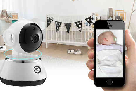 GPSK - 360 HD Smart Rotate And Tilt Baby Monitor - Save 77%