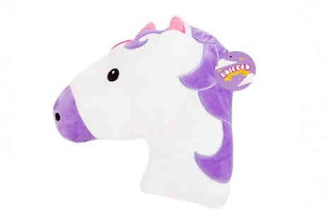 CheekyBox - Large Unicorn Cushion - Save 36%