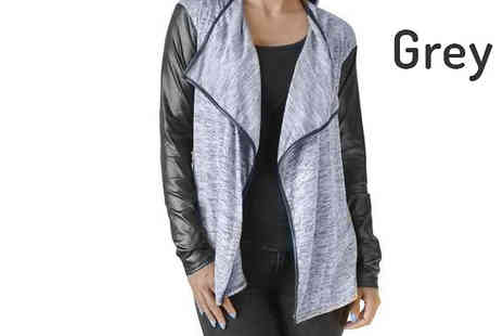 essence - Silvia Waterfall Cardigan Available in 3 Colours, Free Delivery - Save 71%