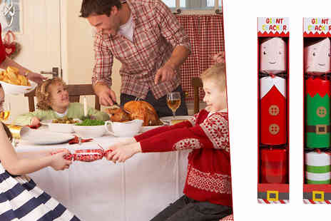 CheekyBox - Giant Christmas Cracker Plus 6 Gifts Inside Available in 1 or 2 - Save 31%