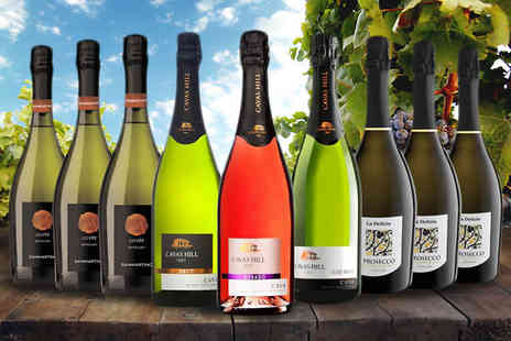 SanJamon - 9 Bottle Sparkling Wine Collection - Save 36%