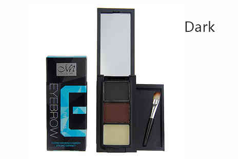 Get Gorgeous - Pro Eyebrow Compact Kit in 2 Colours - Save 85%