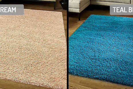 Funky Buys - Shaggy Rug in 8 Colours - Save 67%