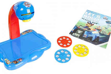 Direct 2 public - Paw Patrol Kids Projector Station - Save 75%